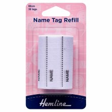 Name Tag Refill - 36 Tags