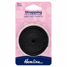 Strapping: 25mm: Black