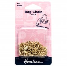 Bag Chain: 120cm: Gold