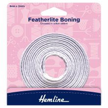 Featherlite Boning: White - 2m x 8mm