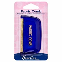 Fabric Comb: Metal Teeth
