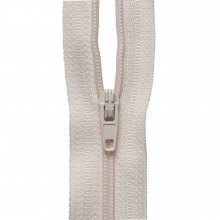 Nylon Zip: Dark Cream - 1m