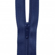 Nylon Zip: Navy - 1m