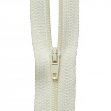 Nylon Zip: Cream - 1m