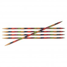 Symfonie: Knitting Pins: Double-Ended: Set of Five: 20cm x 3.75mm