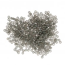 Seed Beads: Size 11/0: Grey
