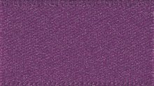 Double Faced Satin: 1m x 7mm: Plum