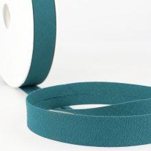 Bias Binding: Polycotton: 20mm: Teal Blue