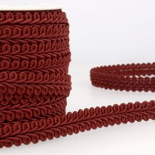 Trim: Gimp Braid: 1m x 15mm: Burgundy