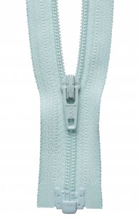 Light-Weight Open End Zip: 36cm: Aqua