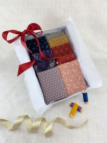Gift Hamper - Traditional Japanese 1/2 metres, Threads & Display Box