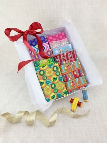 Gift Hamper - Sale Novelty 1/2 metres, Threads & Display Box