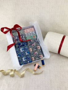 Gift Hamper - Liberty Fat 1/4s, Threads, Wadding & Display Box