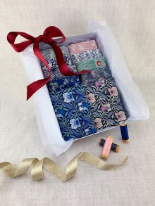Gift Hamper - Liberty Fat 1/4s, Threads & Display Box