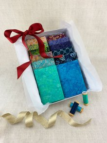 Gift Hamper - Batik Fat 1/4s, Threads & Display Box