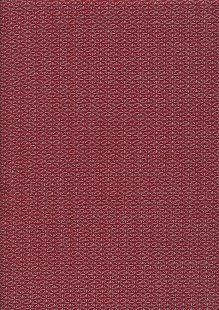 Sevenberry Japanese Linen Look Cotton - Star Red 68170