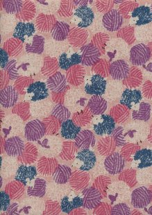 Sevenberry Japanese Linen Look Cotton - Novelty