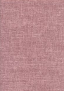 Sevenberry Japanese Plain Linen Look Cotton - Dusky PinkDusky Pink