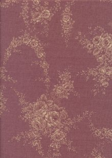 Lecien Japanese Fabric - Vintage Rose 20800-130 PINK