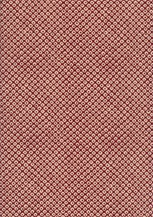 Sevenberry Japanese Fabric - Dice Red