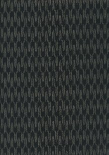 Sevenberry Japanese Fabric - Arrows Black