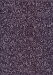 Sevenberry Japanese Fabric - Stormy Sea Purple