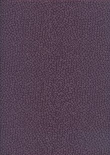Sevenberry Japanese Fabric - Ditsy Pressed Flower Purple