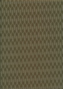 Sevenberry Japanese Fabric - Arrows Green