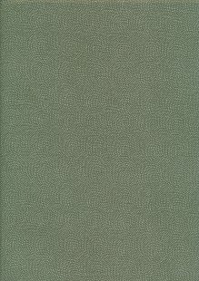 Sevenberry Japanese Fabric - Dots Green