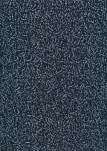 Sevenberry Japanese Fabric - Dots Blue