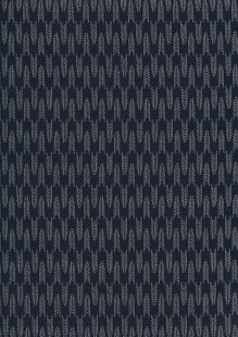 Sevenberry Japanese Fabric - Arrows Navy