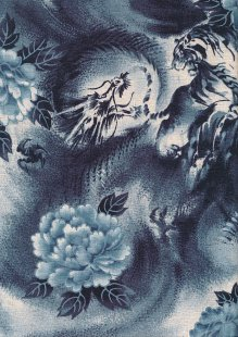 Traditional Japanese Print - Blue