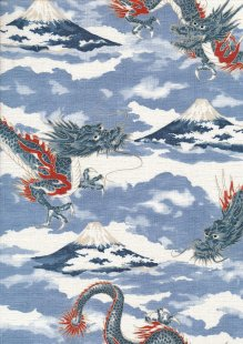 Sevenberry Japanese Fabric -  60910 col 3