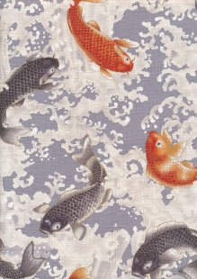 Sevenberry Japanese Fabric - Zono 61320 Col 101
