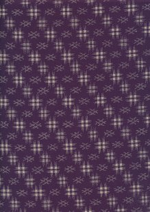 Sevenberry Japanese Fabric - Ink Purple