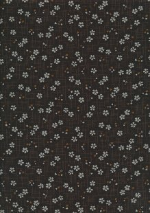 Sevenberry Japanese Fabric - Cherry Blossom Brown