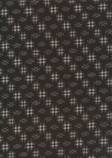 Sevenberry Japanese Fabric - Ink Brown