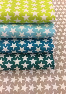 Je Ne Saos Quoi Collection Bundle - Large Star Green, Turquoise, Cyan, Jade & Grey 5 Fat 1/4s