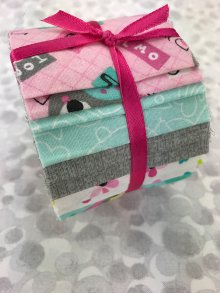 3 Wishes Fabric Jelly Roll - Owl School
