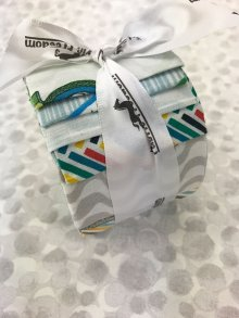 Fabric Freedom Jelly Roll - Retro Road Trip