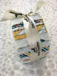Fabric Freedom Jelly Roll - Retro Road Trip 2
