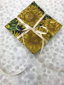 Fabric Freedom Charm Pack - Sunflower