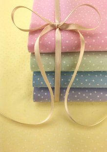 Craft Cotton Co - 5 x Fat 1/4 Pack Pastel Spots