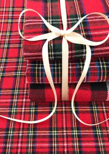 Craft Cotton Co - 5 x Fat 1/4 Pack Trimits Tartan GTC143