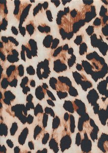 Lady McElroy Poly/Spandex Jersey - Nutmeg Cheetah 704