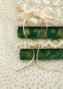 John Louden Christmas Collection - Gilded 5 x Fat 1/4 Pack 3
