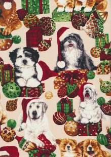 John Louden Christmas Collection - Xmas Dogs