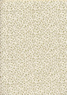 Fabric Freedom - Christmas FF523-2 Cream