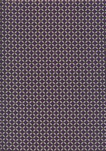 Kanvas Studio - Pansy Noir Curly Buds 8752-M-66 Purple
