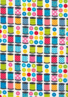Kanvas Studio - Sew Excited Spools of Fun 7826 col 09